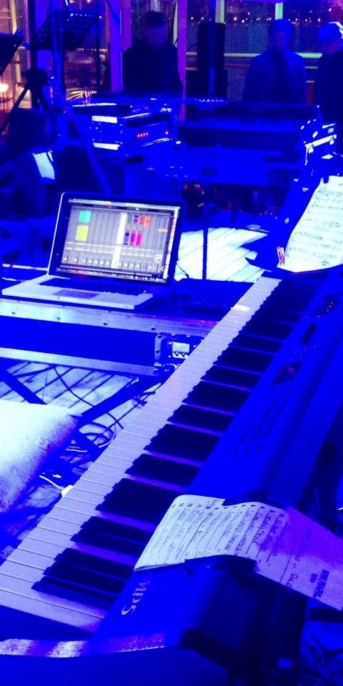 Bühne Keyboards